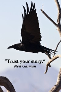 Raven and Niel Gaiman Quote